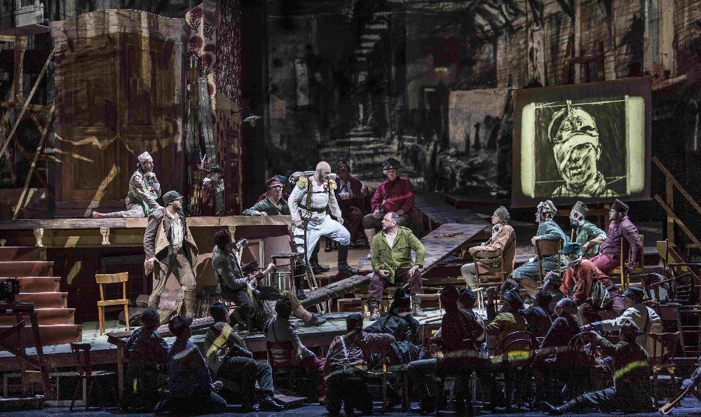 Opera Vojcek zahajuje přenosy z Met v novém roce