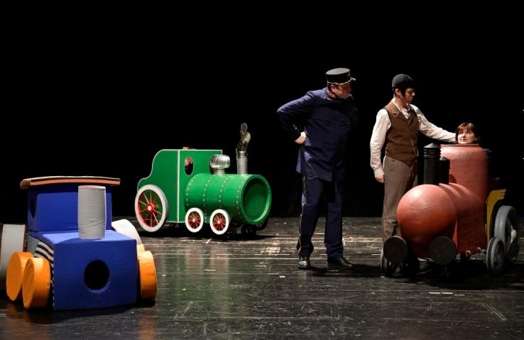 V Divadle loutek bude mít premiéru inscenace Pohádky o mašinkách