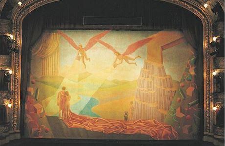 Národní divadlo prodává nepotřebnou oponu ze Státní opery