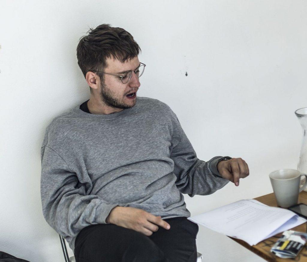 Ondřej Štěfaňák v Pardubicích připravuje scénické čtení hry Magic Afternoon