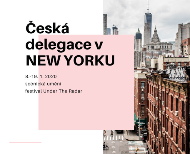 Česká delegace se inspiruje divadlem v New Yorku