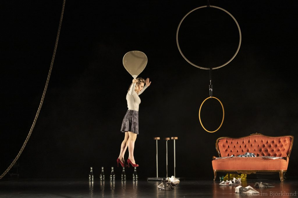 Švédská akrobatka Manda Rydman již brzy na Jatkách78