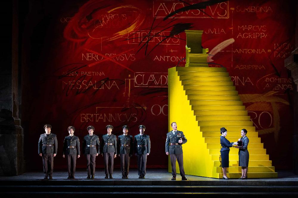 Händelova Agrippina překvapí nadčasovým tématem mocenských her i černým humorem