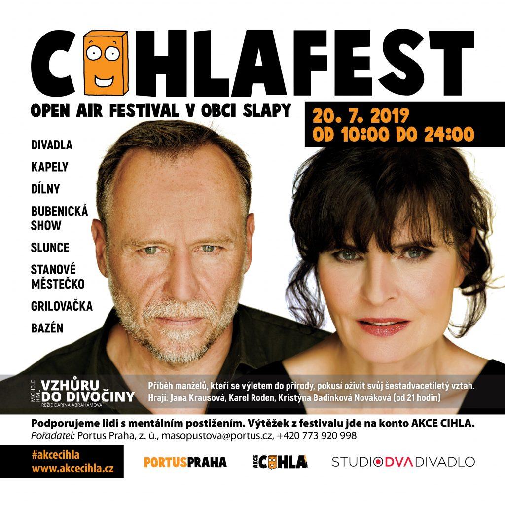 Karel Roden a Jana Krausová lákají na multižánrový festival CIHLAFEST