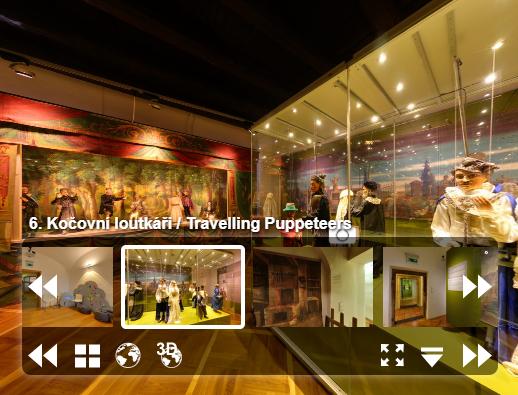 Muzeum loutkářských kultur v Chrudimi nabízí virtuální prohlídku