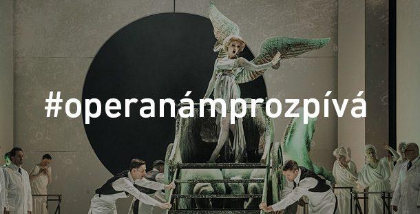 Národní divadlo v čase koronakarantény