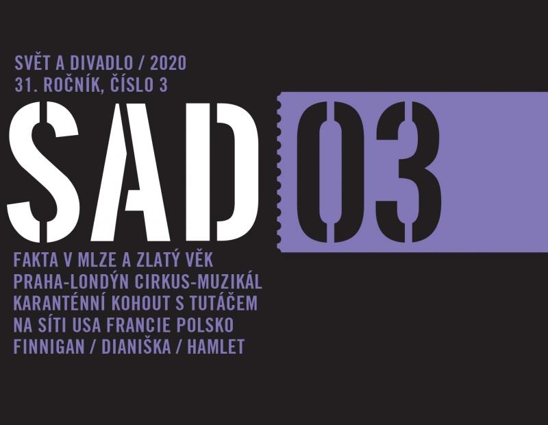 Vyšlo nové číslo časopisu Svět a divadlo