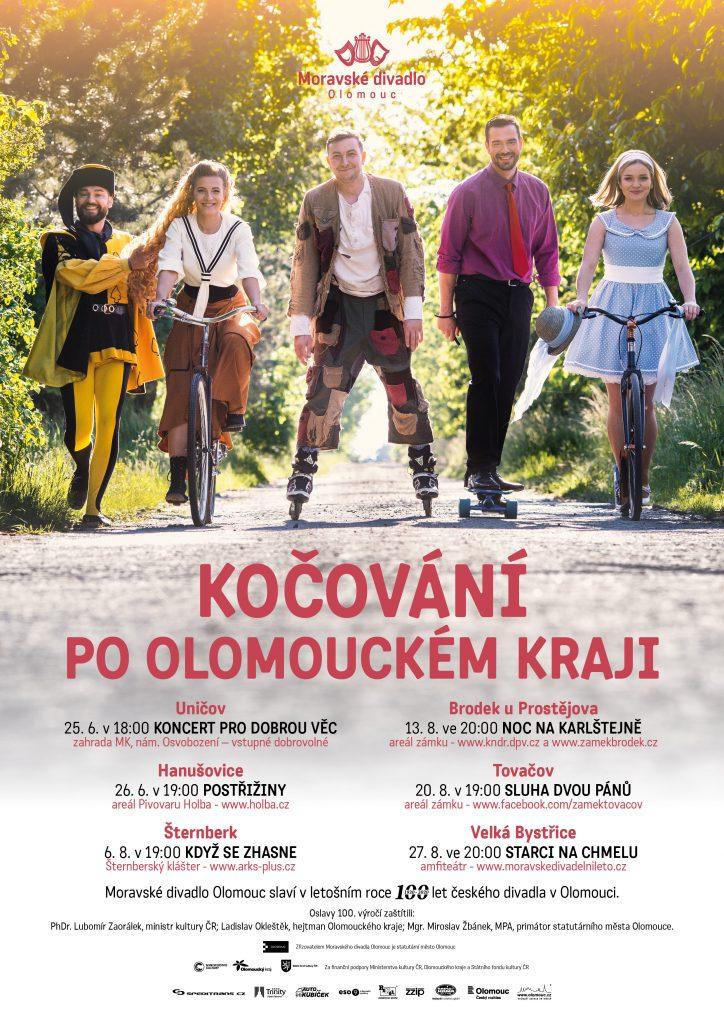 Moravské divadlo Olomouc bude o prázdninách kočovat po Olomouckém kraji