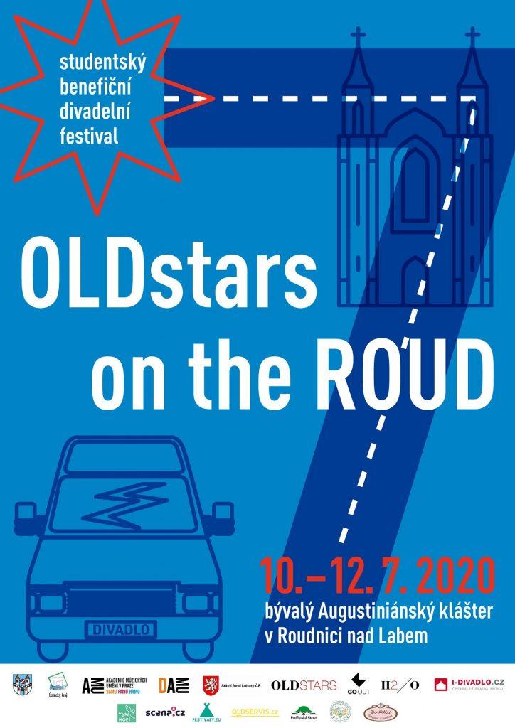 V Roudnici nad Labem se bude konat sedmý ročník benefičního festivalu studentského divadla OLDstars on the ROUD