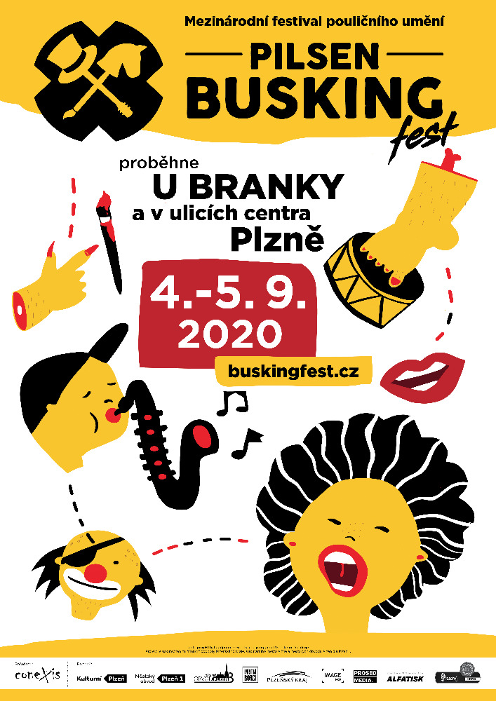7. ročník mezinárodního festivalu Pilsen Busking Fest 2020 proběhne od 4. do 5. září