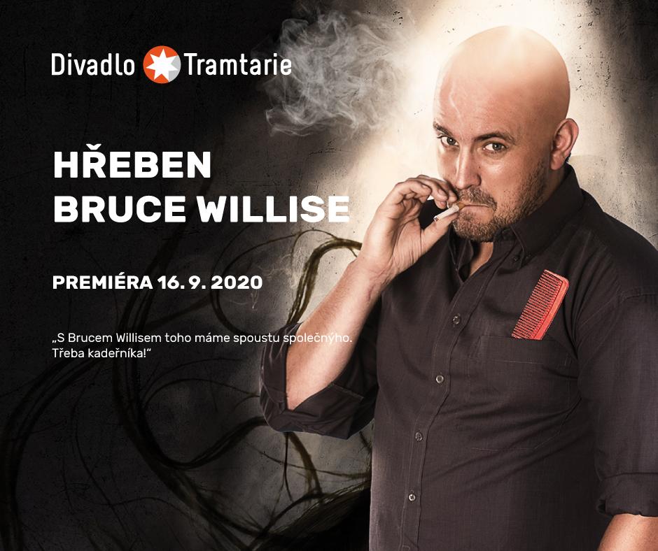 Divadlo Tramtarie otevře sezonu 2020/2021 komedií Hřeben Bruce Willise