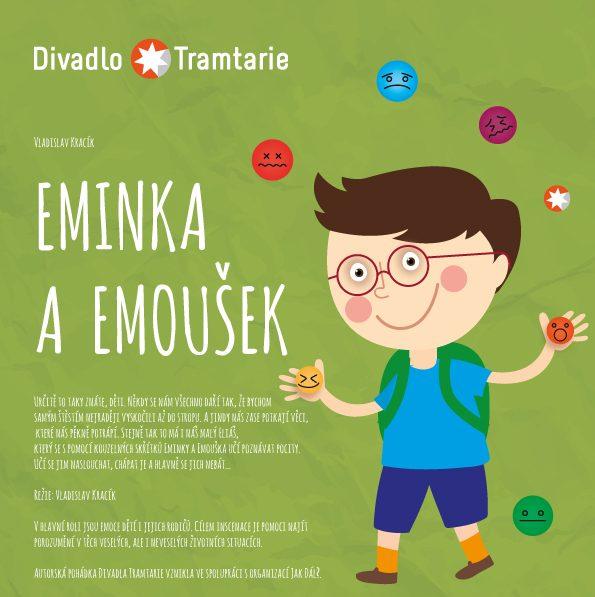 Divadlo Tramtarie: Pohádka Eminka a Emoušek pomáhá dětem poznávat své emoce