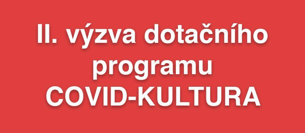 Ministerstvo průmyslu vyhlásilo druhou výzvu programu COVID kultura