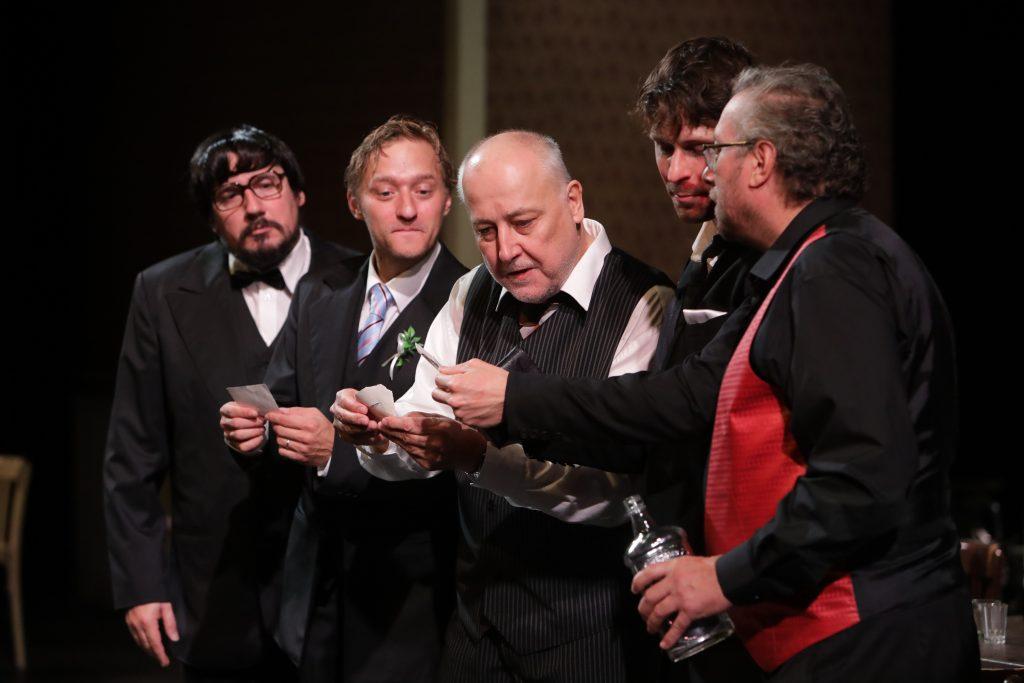 Činohra Národního divadla moravskoslezského uvede v premiéře komedii A. Saramonowicze Testosteron