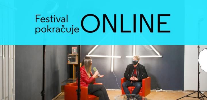 Festival současného umění 4+4 dny v pohybu uzavřen, dále však vysílá podcastové studio 4×4 Live