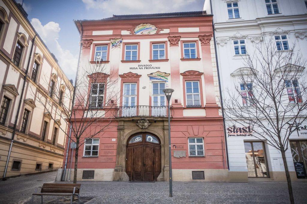 Brněnský magistrát plánuje rekonstrukci budovy Centra experimentálníhodivadlana Zelném trhu