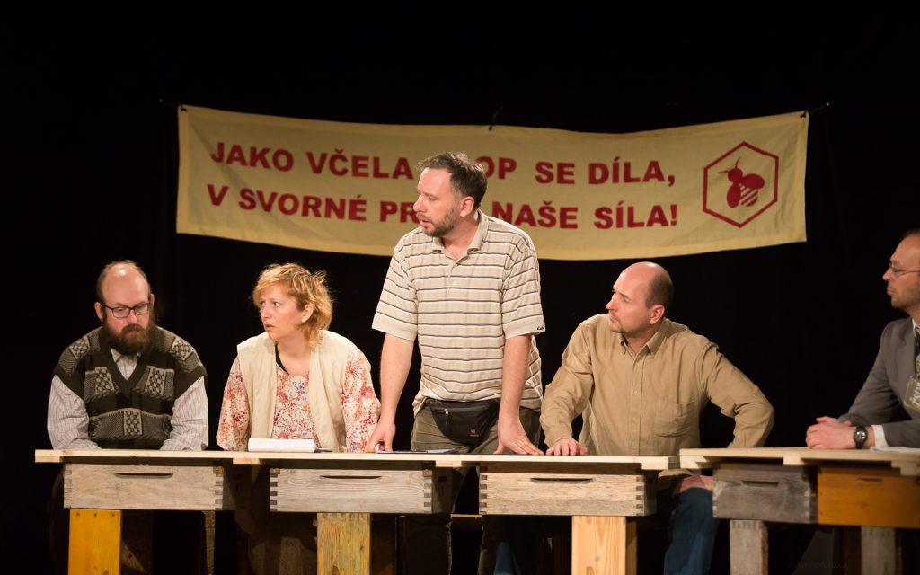 Činoherní klub uvádí: představení ÚL divadla V.A.D. Kladno