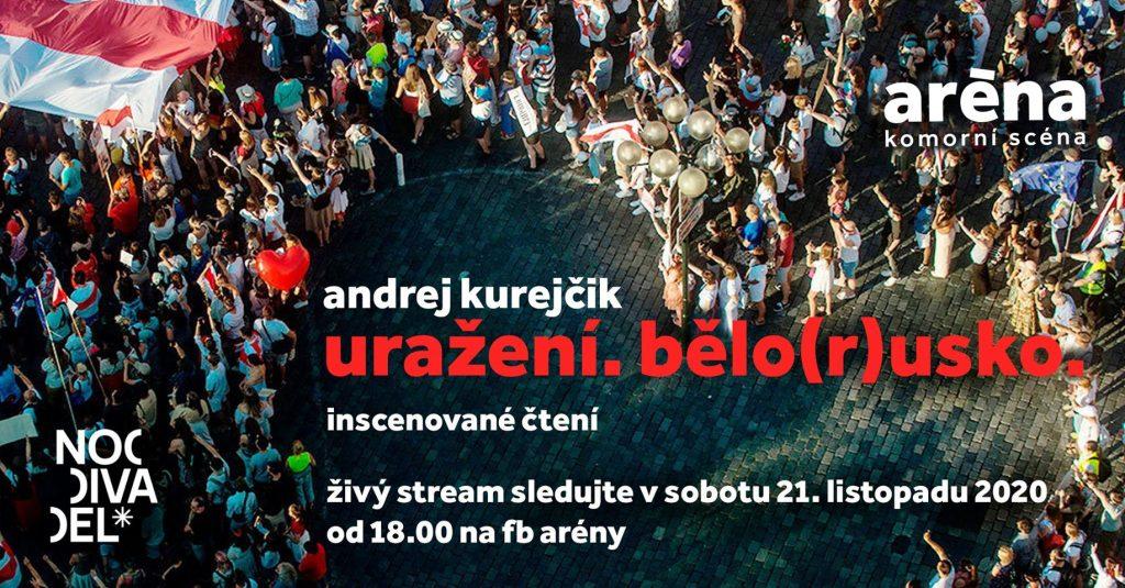 Komorní scéna Aréna se zapojí do mezinárodního divadelního projektu Insulted. Belarus(sia). Worldwide Readings
