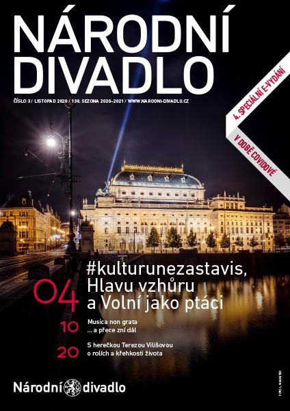Listopadový časopis Národního divadla opět online