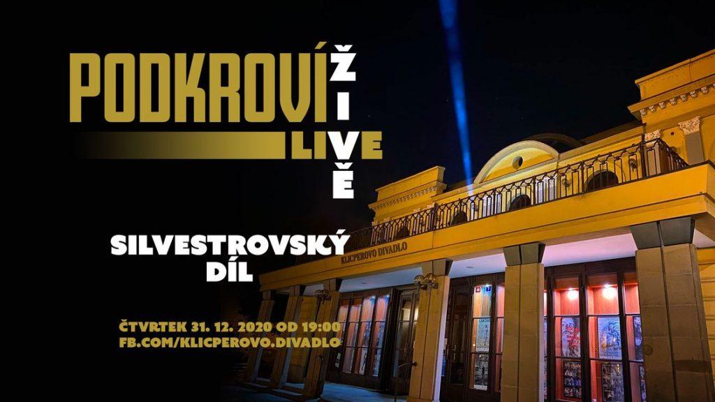 Klicperovo divadlo se přihlásí v poslední den roku 2020 se silvestrovským vydáním Podkroví Live
