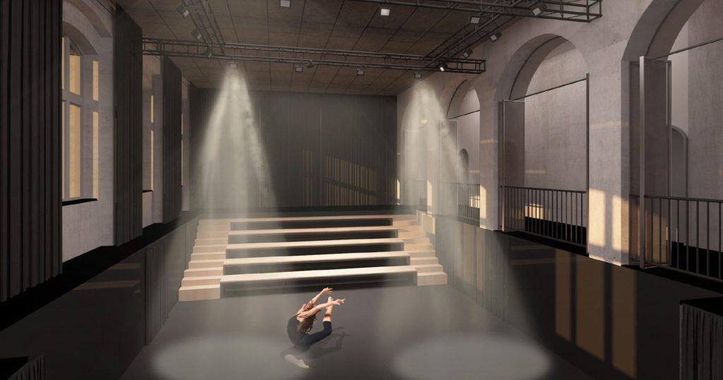 Chátrající Žižkovské lázně by mohly být využity jako Dům tance