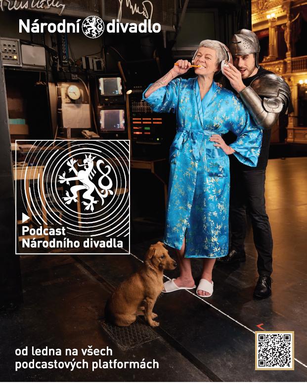 Národní divadlo je slyšet jako nikdy, spustilo svůj podcast