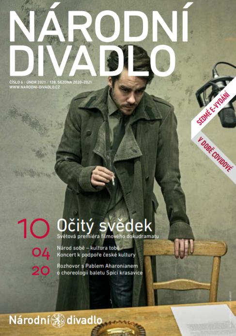 Nové vydání časopisu Národní divadlo je online