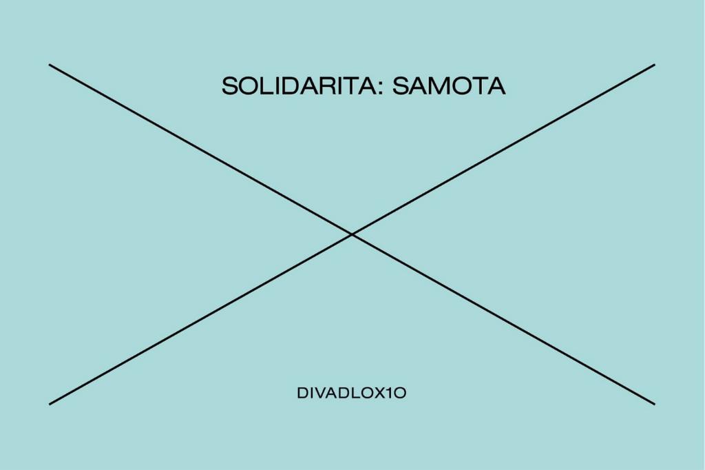 Divadlo X10 uvede 1. dubna druhou část cyklu Solidarita s názvem Samota
