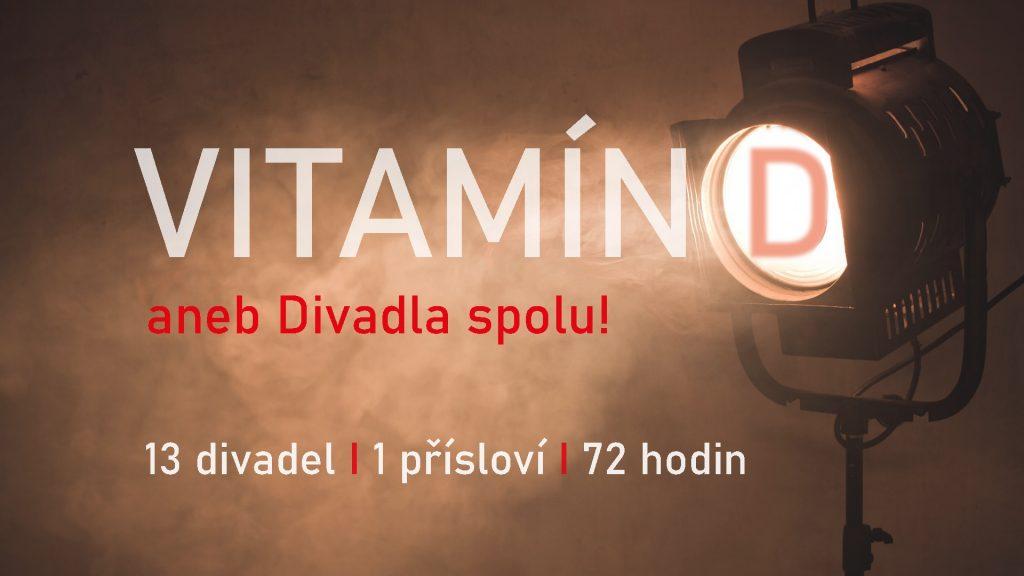 Společný projekt 13 českých divadel: Vitamín D