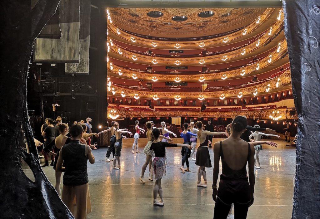 Balet Národního divadla v Gran Teatre del Liceu v Barceloně