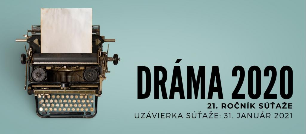 Poznáme finalistov 21. ročníka súťaže DRÁMA