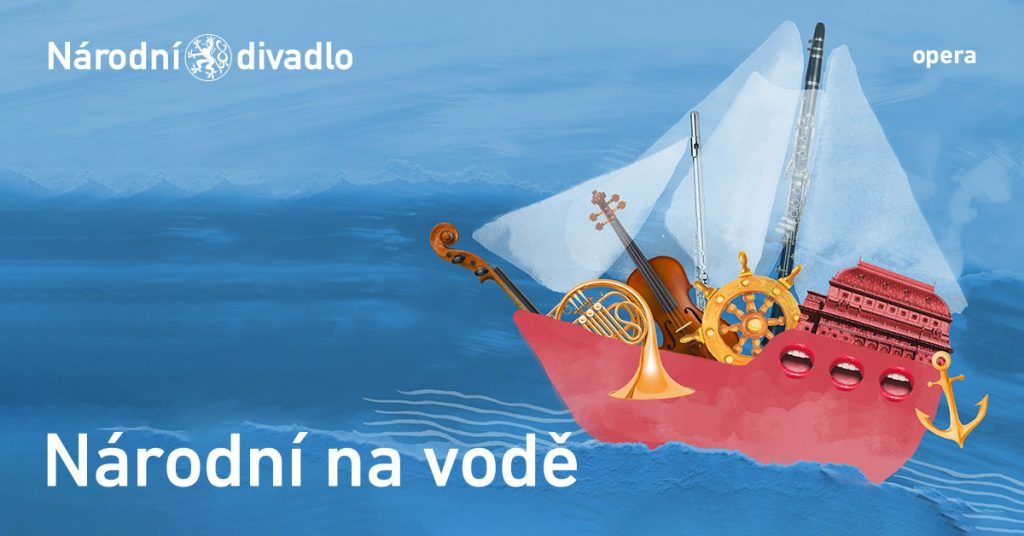 Národní divadlo připravilo open air akci Národní na vodě