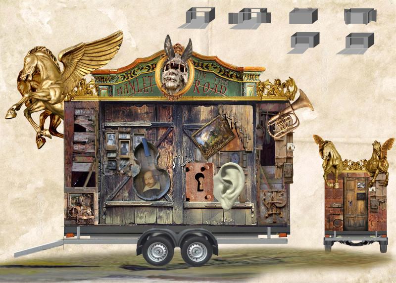 Divadlo Radost otevírá své dveře divákům novou inscenací Hamlet on the road