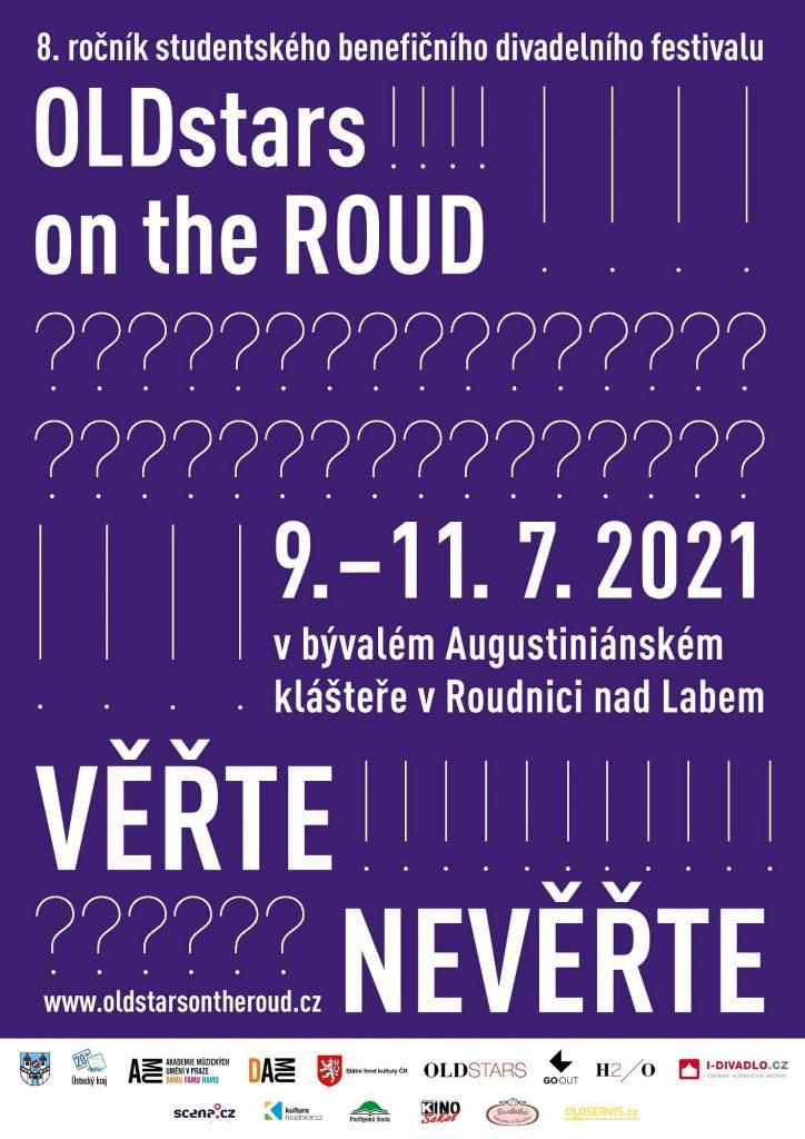 V Roudnici nad Labem se bude konat osmý ročník benefičního festivalu studentského divadla OLDstars on the ROUD