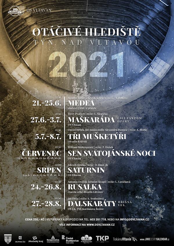Divadelní spolek Vltavan plánuje v Týně nad Vltavou postavit nové otáčivé hlediště