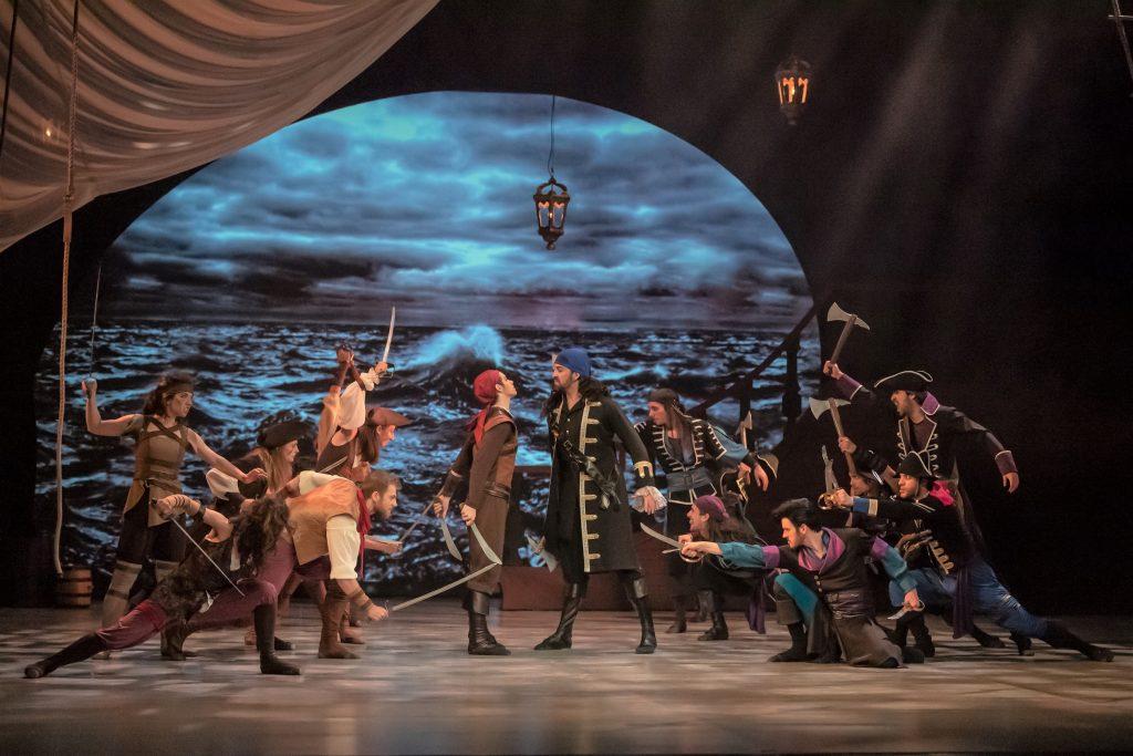 Národní divadlo moravskoslezského uvede premiéru taneční incenace Korzár