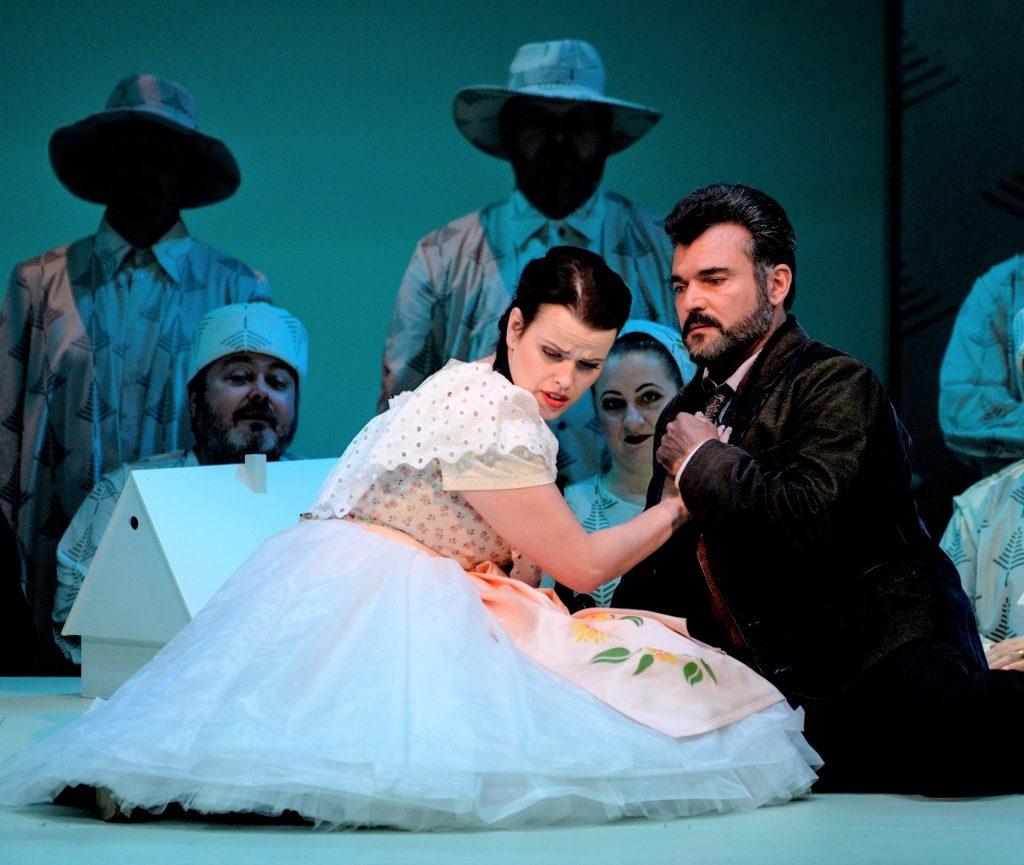 Opera Národního divadla moravskoslezského nastudovalo operu Bedřicha Smetany Hubička