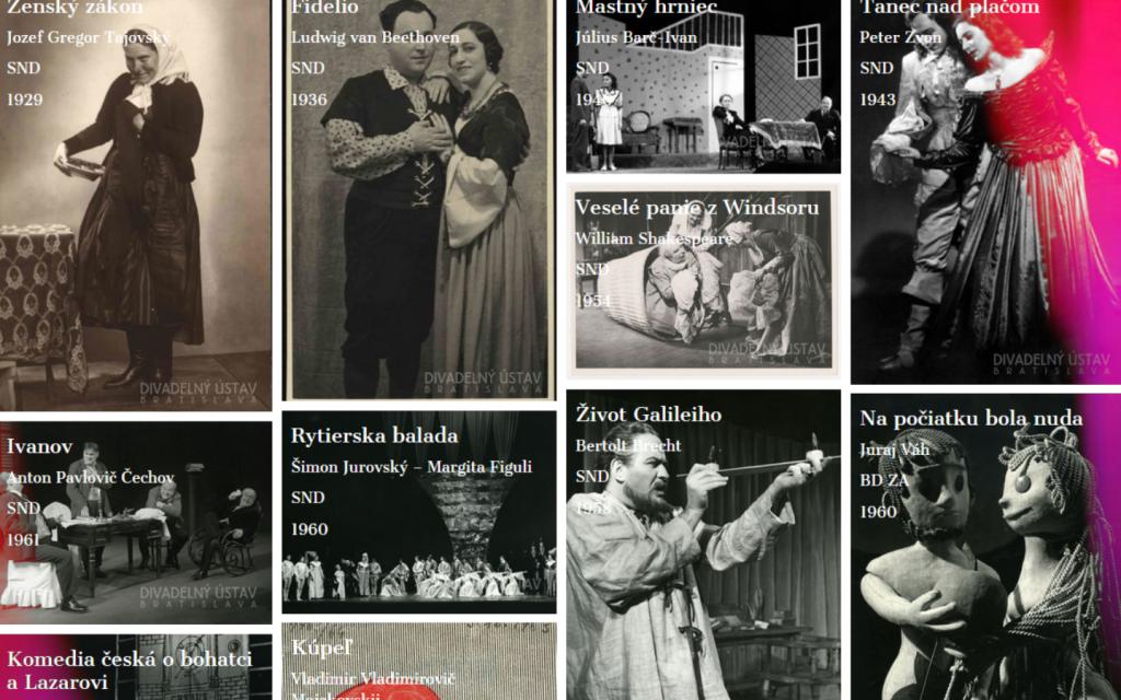 Pozrite si Zlatú kolekciu slovenského profesionálneho divadla