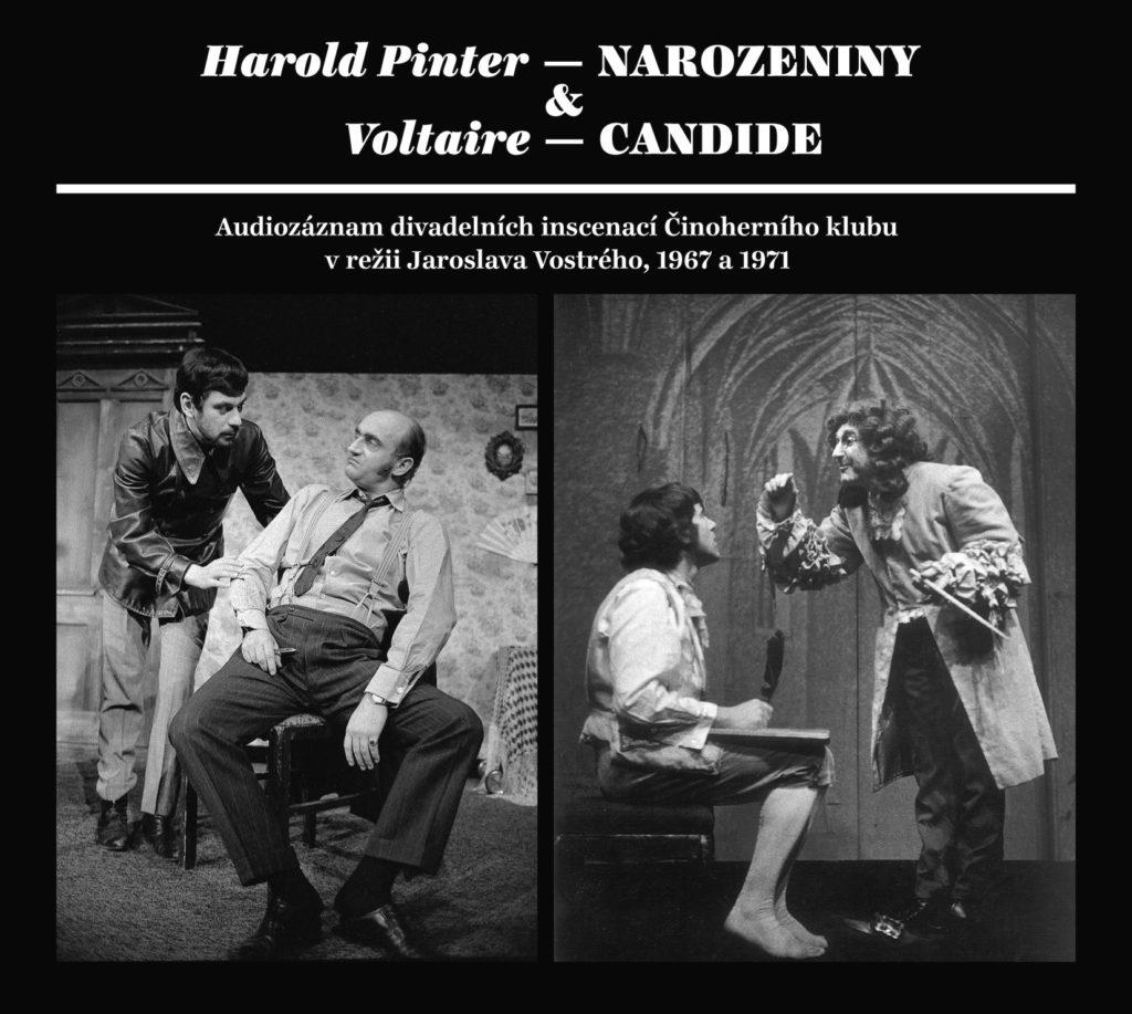 Nakladatelství Galén a Činoherní klub vydávají 4CD s audiozáznamy dvou divadelních inscenací Činoherního klubu vrežii Jaroslava Vostrého